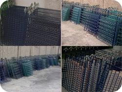 Galvanising panels
